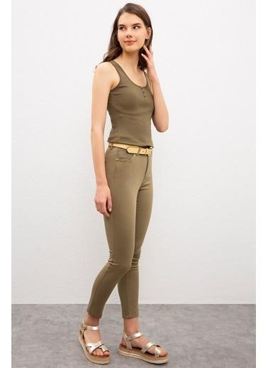 U.S. Polo Assn. Pantolon Yeşil